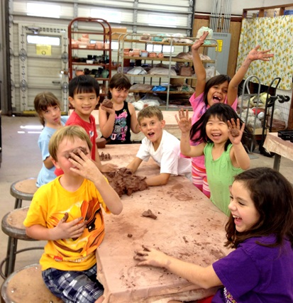 Community Clay Studio Arts Camp
